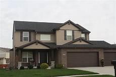 dark roof mastic musket brown trim mastic pebblestone clay siding normal il carlson exteriors inc