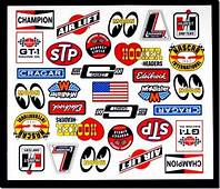 Vintage Racing Decals  Logan