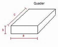 geometrie volumen und oberfl 228 che quader zylinder und