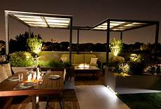 foto di terrazzi low light roof top contemporary patio chicago by