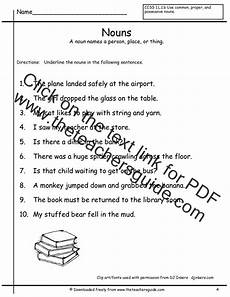 classifying nouns worksheets for 3rd grade 7977 classifying 1 grade for worksheets nouns a a any c pronoun a word to than used of identify other