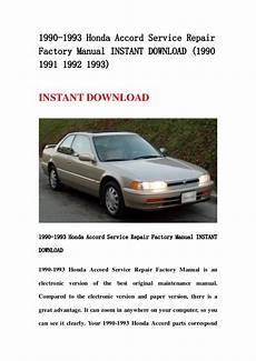 how to download repair manuals 1993 honda accord windshield wipe control 1990 1993 honda accord service repair factory manual instant download