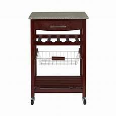 Kitchen Cart Deals by Select Lowe S Stores Linon Granite Top Espresso Kitchen