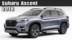 All New 2018 Subaru Ascent Pre Production Concept 3 Row 7
