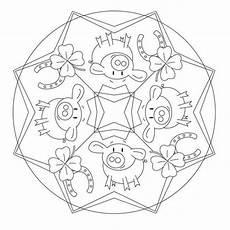 Silvester Malvorlagen Pdf Gl 252 Cksbringer Mandala Basteln Silvester Gl 252 Cksbringer