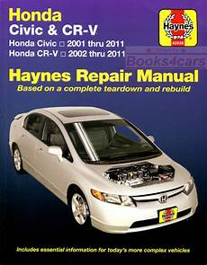 automotive service manuals 2008 honda civic free book repair manuals honda civic shop manual service repair book haynes workshop guide chilton ebay