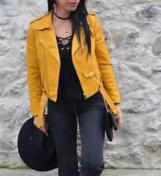 perfecto zara jaune 1054 clothes leather