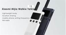 Xiaomi Walkie Talkie Lite Outdoor Travel by Xiaomi Mi Walkie Talkie 1s With Fm End 6 16 2021 12 00 Am