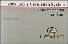 where to buy car manuals 2004 lexus is electronic throttle control 2004 lexus ls 430 navigation system owners manual original