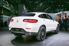 2017 mercedes glc coupe debuts in new york