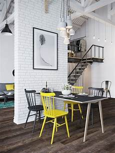 chic scandinavian studio with lofted home designing via chic scandinavian studio with lofted