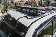 how to install led light bar on roof kc hilites flex array lightbar installation on 5th 4runner