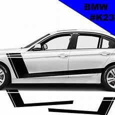 sports side car stripes decal car graphics car stickers for bmw racing stripes car side racing