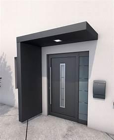 Vordach Hauseingang Mit Seitenteil - gutta bs 200 rechteckvordach mit seitenteil vordach