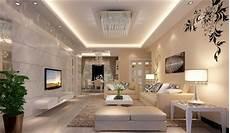 luxus wohnzimmer moderne decken beleuchtung zusammen mit