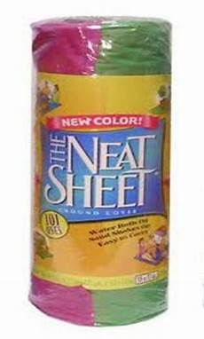 the neat sheet ground cover 57 x 77 inches single roll