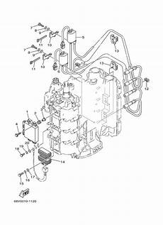 Yamaha 115 Hp Outboard Wiring Diagram by 2004 Yamaha Electrical 1 Parts For 115 Hp F115tlrc