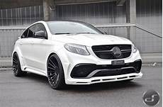 White Mercedes Gle Coupe With Hamann Kit Has A Wing