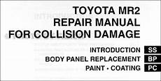 car repair manuals online pdf 2000 toyota mr2 windshield wipe control 2000 toyota mr2 spyder repair manual protacs