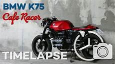 bmw k75 cafe racer build timelapse