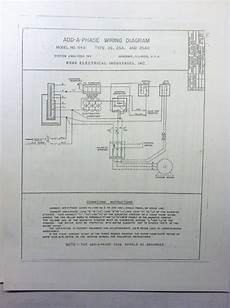 Ronk Roto Phase Wiring Diagram by Ronk Wiring Diagram Camizu Org