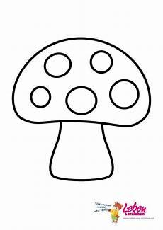 pilze zum ausmalen und ausdrucken 02 educație