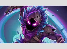 Wallpaper Raven, Fortnite Battle Royale, 4K, Creative