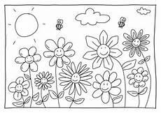 Ausmalbilder Blumen Und Bienen Fotos Lizenzfreie Bilder Grafiken Vektoren Und