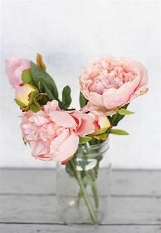 pink peony peonies silk flower diy wedding bouquet 20 00