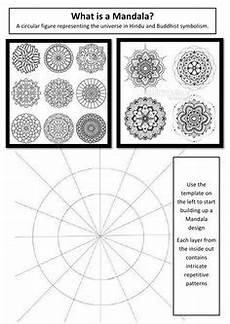 mandala style color wheel worksheet practice for middle high school in 2019 9 12 hs