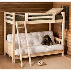 futon bunk bed futon bunk bed 93700 bedroom furniture at sportsman s guide