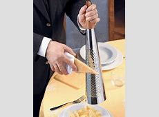 Alessi TODO Giant Hard Cheese Grater in 18/10 Stainless