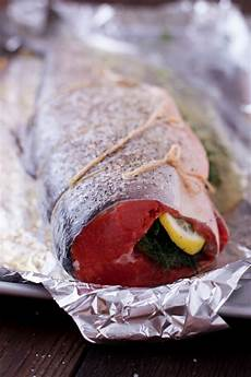 how to cook whole salmon in the oven eating richly