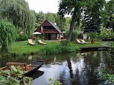 Ferienhaus Am Wasser Im Spreewaldkurort Burg