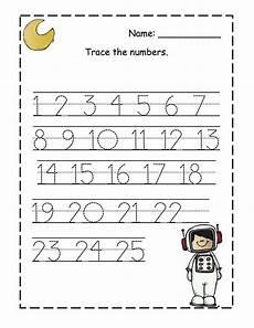 kindergarten trace numbers 1 20 printable loving printable
