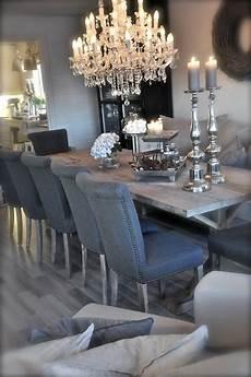 eleganter kronleuchter ausgefallene deko luxury dining