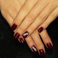 24 dark red nail art designs ideas design trends
