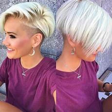 very short shaved pixie haircuts 10 chic shaved haircuts for short hair 2020