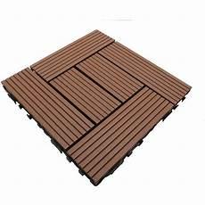 dalle terre cuite dalle de terrasse bois composite classic 30 x 30 cm