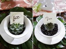 diy coffee ring placecards the sweetest occasion