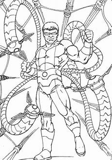 Malvorlagen Age Ultimate The Enemy Doctor Octopus Coloring For