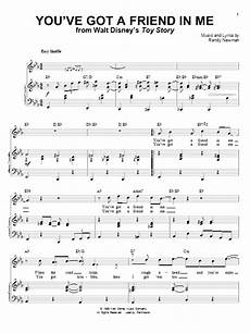 you ve got a friend in me sheet music by randy newman and lyle lovett piano vocal 30665