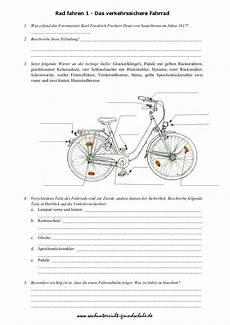 fahrradprüfung 4 klasse fragebogen das verkehrssichere fahrrad grundschule