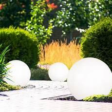 garten licht solar 3er set led steck leuchten solar kugeln wei 223 garten deko