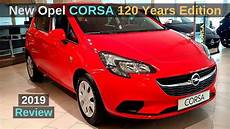 new opel corsa 120 years edition 2019 review interior