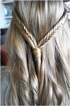 two fishtail braids for straight hair popular haircuts