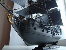 black pearl pirate ship model in scale 1 72