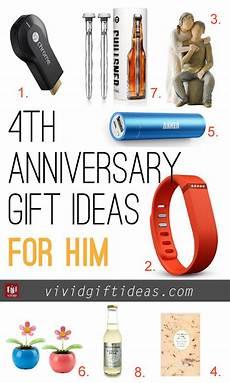4th Year Wedding Anniversary Gift Ideas For Him