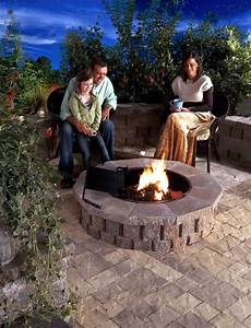 Fireplace In The Garden Construction 24 Ideas For A