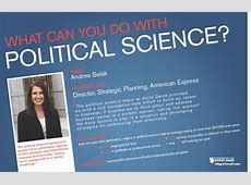 careers with political science degree